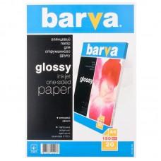 Фотобумага Barva, глянцевая, 150г/м2, A4, 20л (IP-C150-T02)