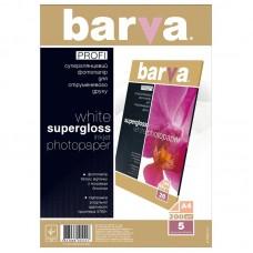 Фотобумага Barva Profi, суперглянцевая, 200г/м2, A4, 5л (IP-R200-T01)