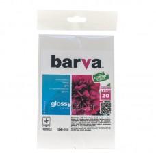 Фотобумага Barva Economy Series, глянцевая, 230г/м2, 10х15, 20л (IP-CE230-216)