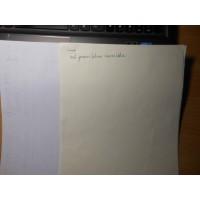 УФ / UV офсетная бумага A3+ (305 * 430), 400 г/м2