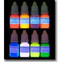 УФ / UV штемпельная краска, цвет Red 10 грамм