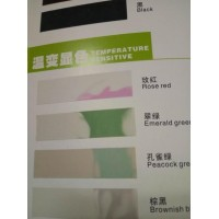 Возвратная термохромная краска , colorless - Peacock green , 50 градусов 1 kg