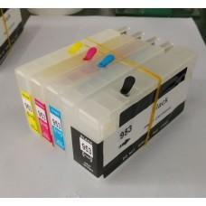 Комплект перезаправляемых картриджей ПЗК HP Officejet Pro 8740 ( chip HP 953 ), для принтера Hewlett-Packard, модель PZKHP8740