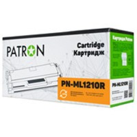 Картридж Patron (PN-ML1210R) Samsung ML-1210 / 1250 / 1430 / 1220 / 1010 Black (аналог ML-1210D3)