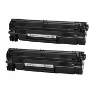 Картридж PrintPro (PP-C725DP) Canon LBP6000 (аналог Canon 725 / 712 / CE285A) Dual Pack