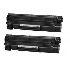 Картридж PrintPro (PP-H283DP) HP LJ Pro M125nw / M127fn Black (аналог CF283AF) Dual Pack,  артикул PP-H283DP, производитель , купить в Украине
