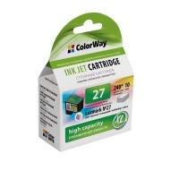 Картридж CW (CW-L27XLC) Lexmark №27XL Color (аналог 10N0227)