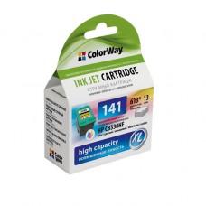 Струйный картридж CW (CW-H141XL) Color HP C4283 / 4483 / 4583 / 5283 / 5363 / J5783/6413, DJ D4363 (CB338HE)
