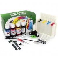 СНПЧ / CISS HP DeskJet 2620 / 2630 чернила 4 * 50 грамм с демпфером