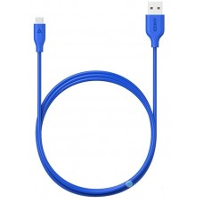 Кабель Anker PowerLine USB - MicroUSB 0.9m, Blue (A8132031)
