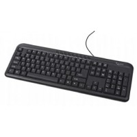 Клавиатура Gembird KB-M-101-UA PS Multimedia Black