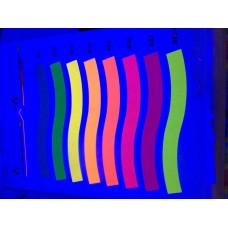 UV Флуоресцентная краска TY 805 Red , вес 1 кг для офсетной печати