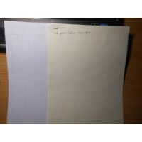 Не светящаяся в УФ бумага волокнами R / C 80g/m  A4 297mm x 210mm для офсетной и струйной печати