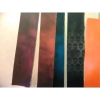 Термохромная ткань, цвет Оранжевый на Белый, 1 метр