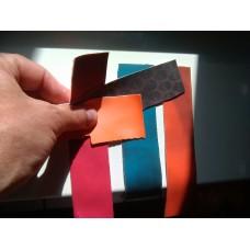 Термохромная ткань, цвет Черный на Синий, 1 метр