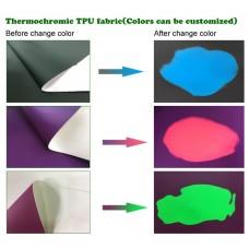 Ткань меняющая цвет от температуры купить резинка цена